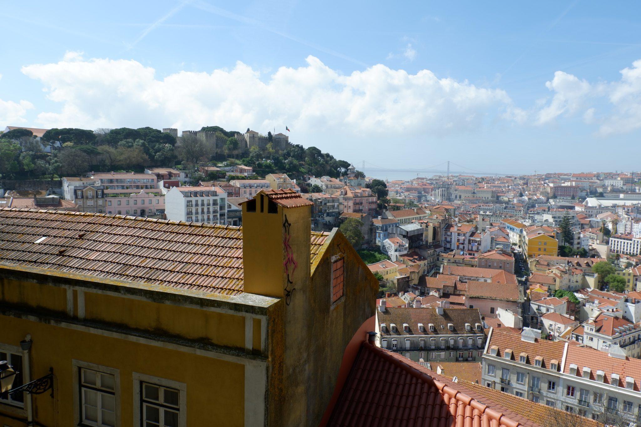 Miradouro da Graça, Terrace with great views of the city