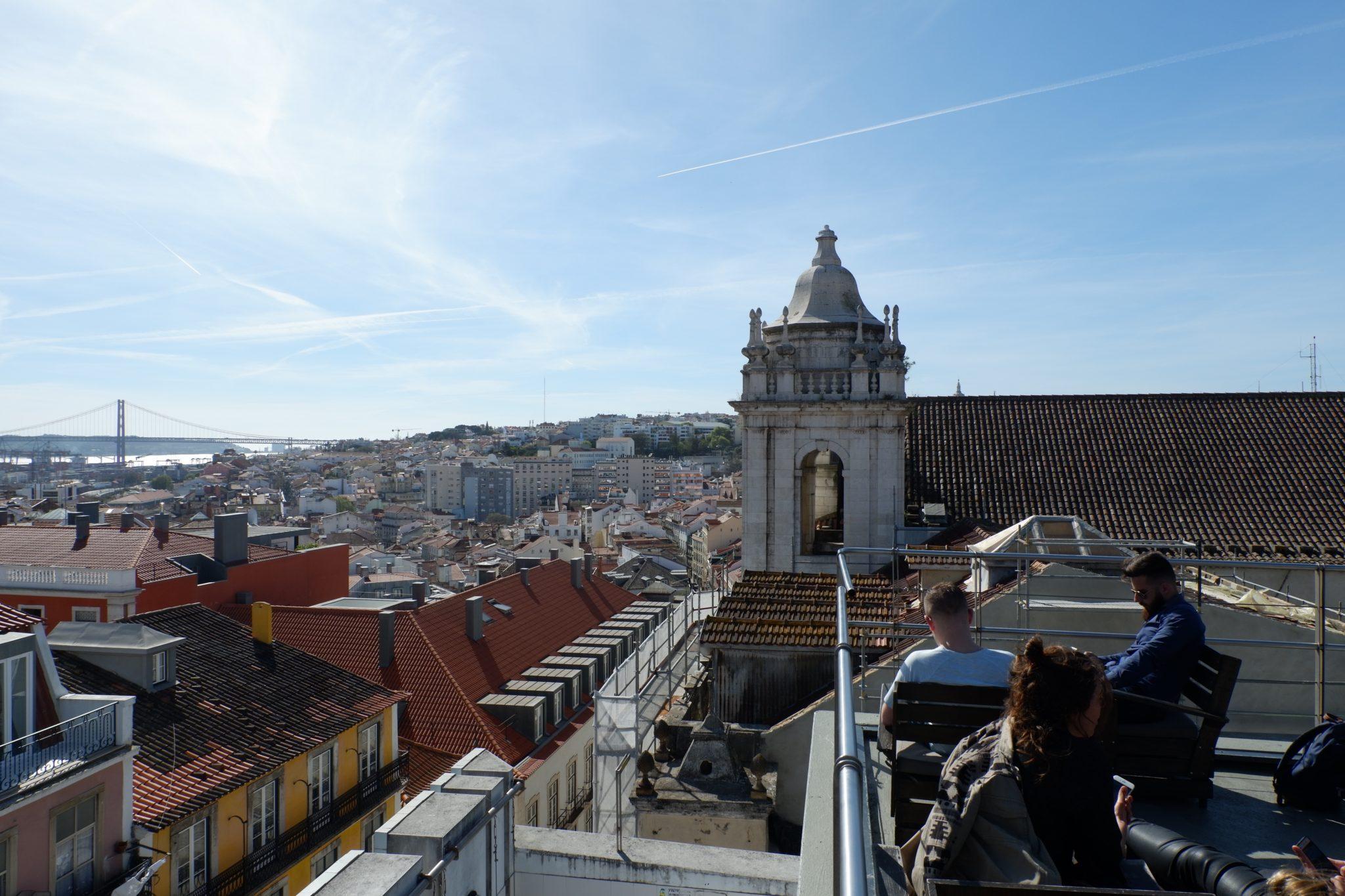 Lisbon, PARK bar, views of lisbon
