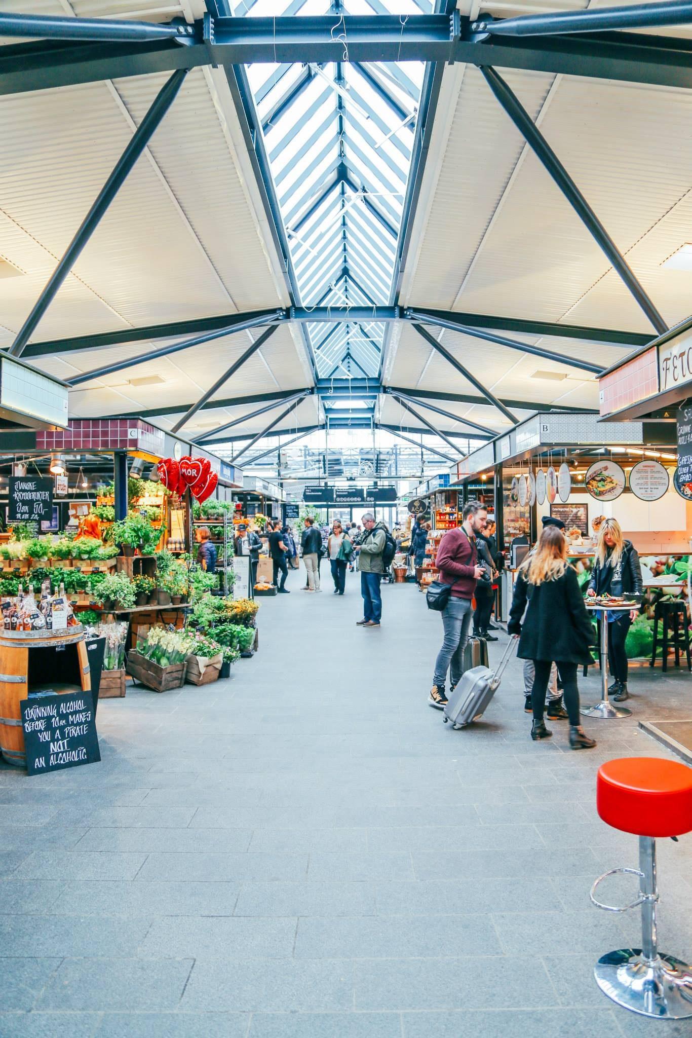 street market, food market, copenhagen
