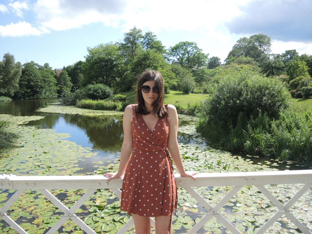 Botanical Garden, spotty dress, copenhagen, nobody s child