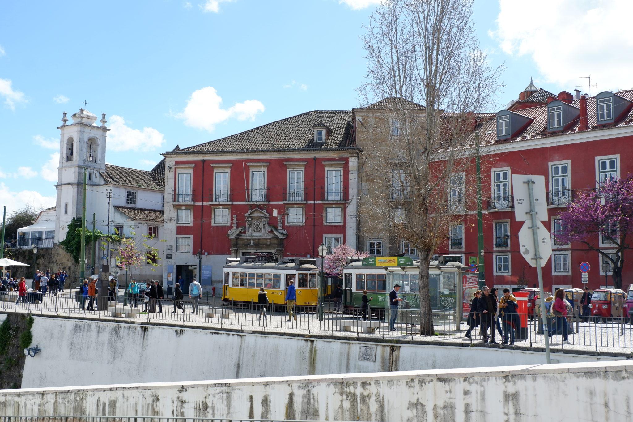 Lisbon, Portugal, Trams