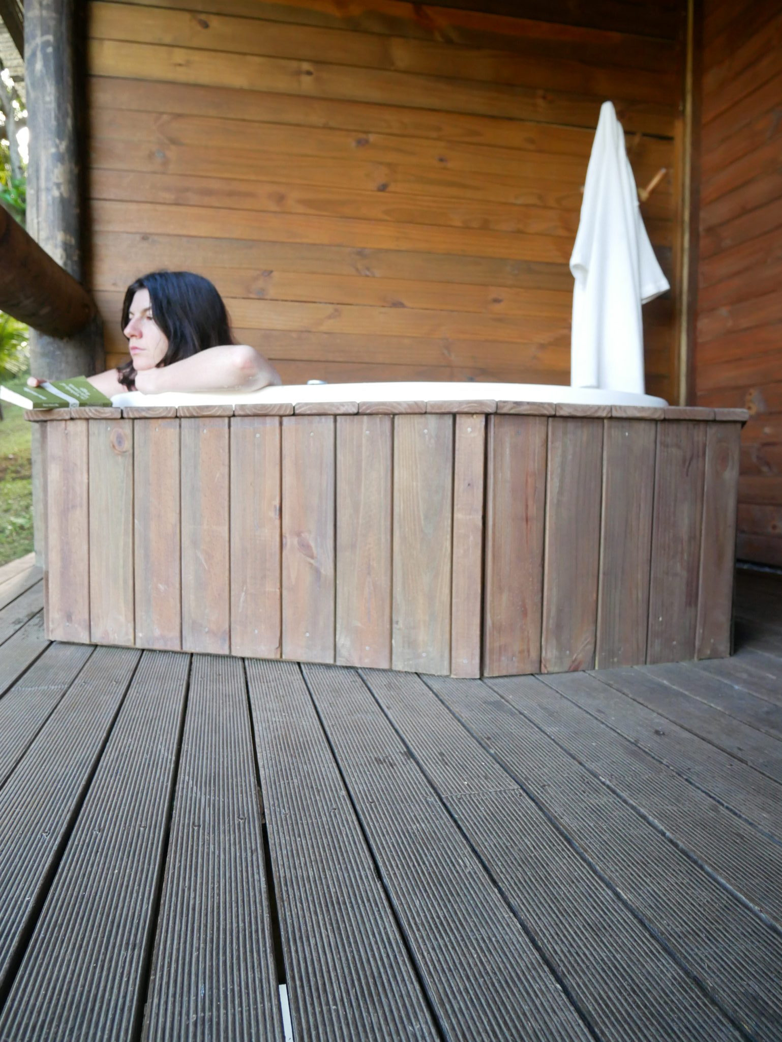 Personal Hot Tub at Toque Toque Boutique Hotel