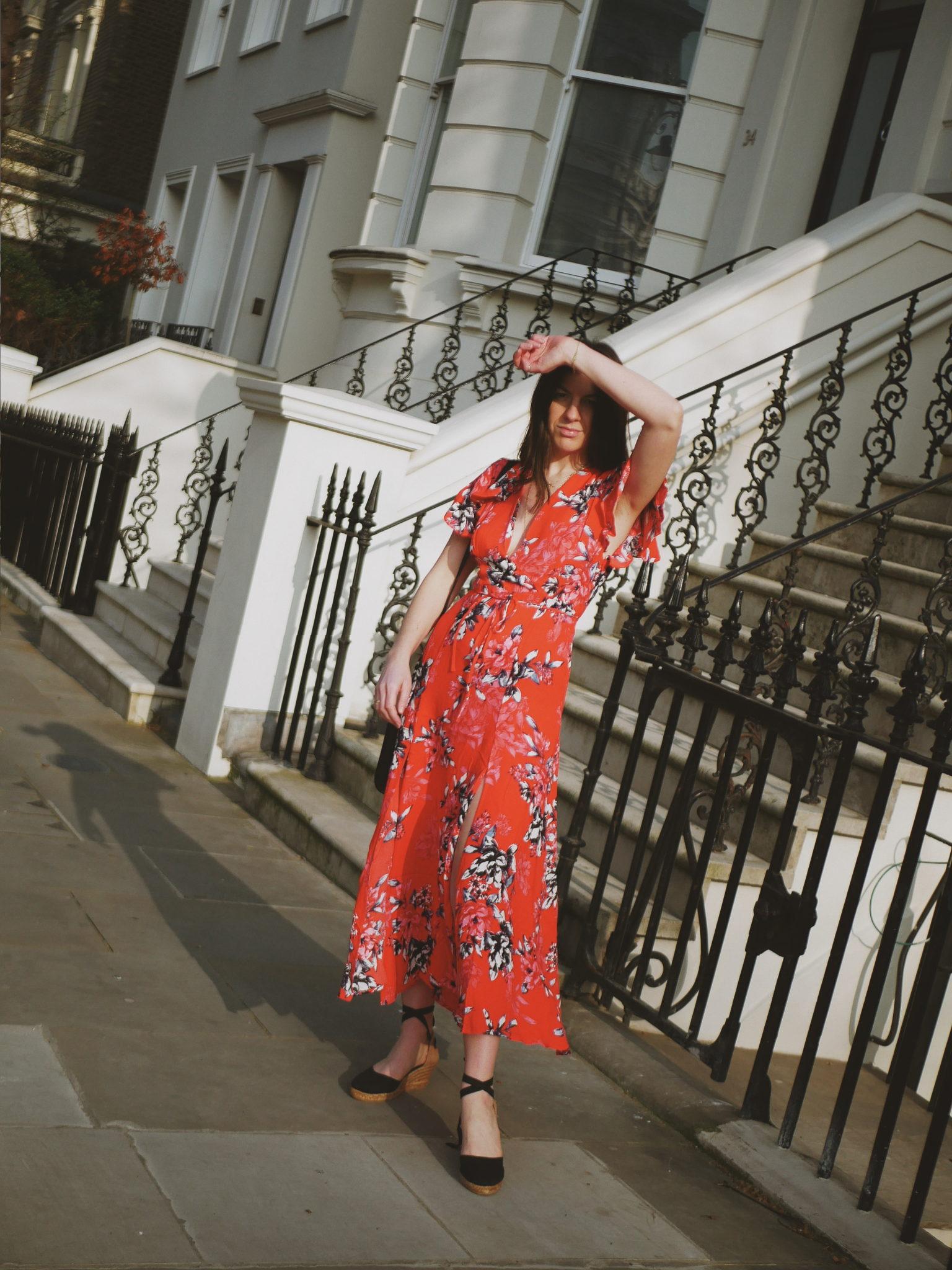 Coletta tea dress